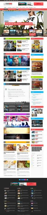 YourMag - Universal WordPress News Magazine Theme (Custom)