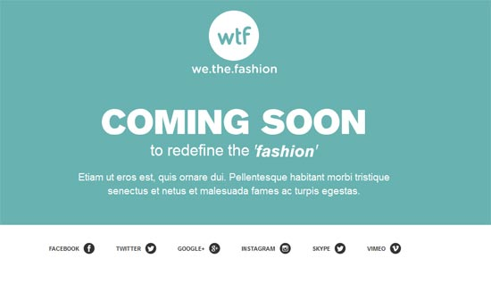 coming soon fashion  Template