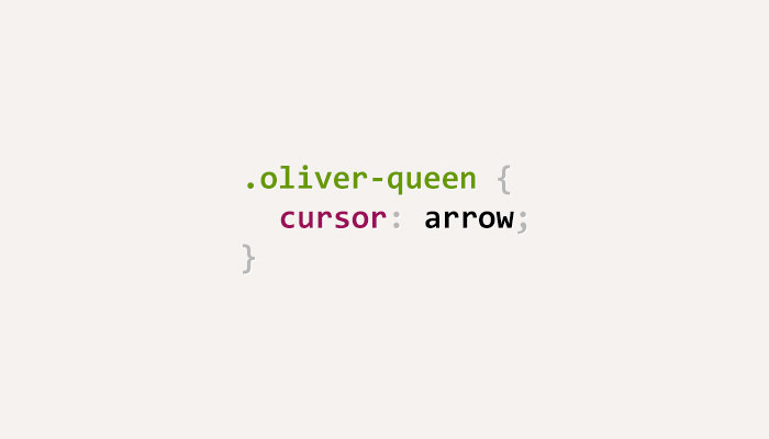 css-puns-oliver-queen