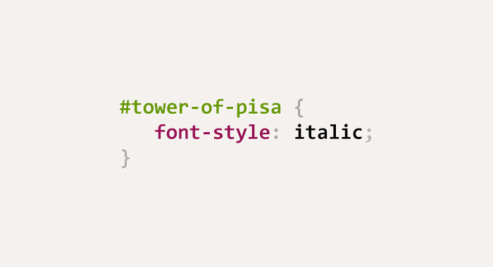 css-puns-tower-of-pisa