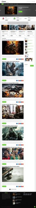 iGame Blogger Template (Custom)