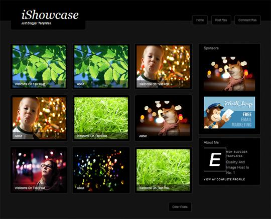 iShowcase Blogger Template (Custom)